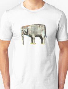 Cement elephant sculpture T-Shirt