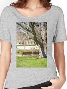 Seats with a Memorial View Women's Relaxed Fit T-Shirt
