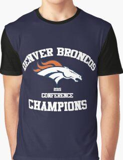 Denver Broncos 2015 AFC Conference Champions Graphic T-Shirt