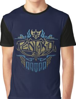 Pentakill Emblem / Band Logo Graphic T-Shirt