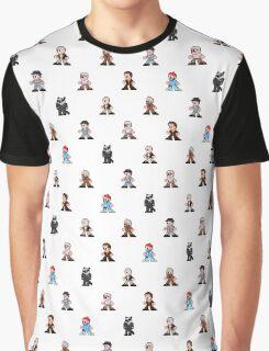 Bill Murray Pattern Graphic T-Shirt