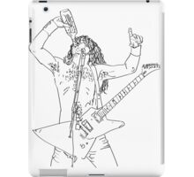 Airbourne Joel Guitar Sketch iPad Case/Skin