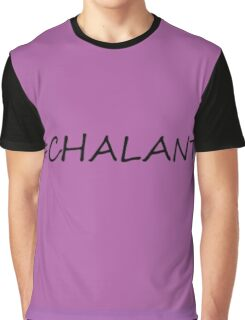 #Chalant Graphic T-Shirt