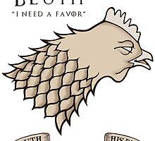 Bluth Chicken by kirkdstevens