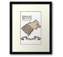 Bluth Chicken Framed Print