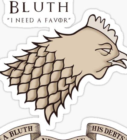 Bluth Chicken Sticker