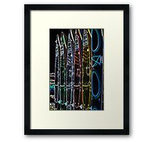 "Special Effects Kayaks ""Cool"" Framed Print"