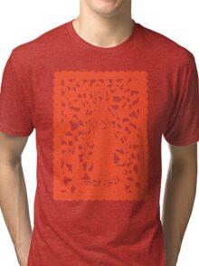 Khmer Print Tri-blend T-Shirt