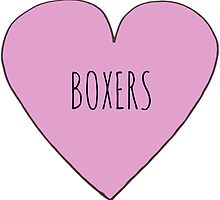 BOXER LOVE by Bundjum