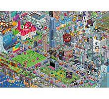 pixel art land Photographic Print
