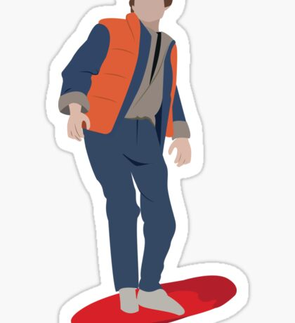 Back to the Future - Marty Mcfly Sticker