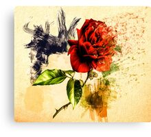 Every Rose Has ItsThorn Canvas Print