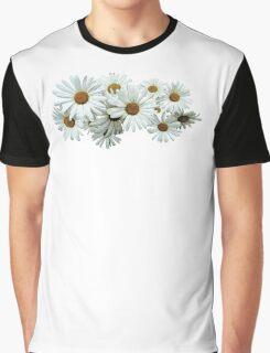 Bunch of White Daisies Graphic T-Shirt