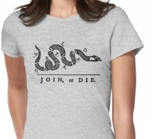 Portland Join Or Die Womens Fitted T-Shirt