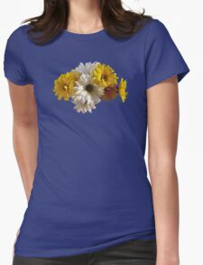 White and Yellow Daisies T-Shirt