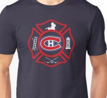 Securite Incendie de Montreal - Canadiens style Unisex T-Shirt