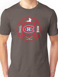 Securite Incendie de Montreal - Canadiens style Unisex T-Shirt