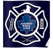 Toronto Fire - Maple Leafs style Poster