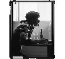 True Detective : Take Off Your Mask iPad Case/Skin