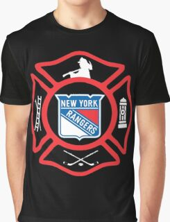 FDNY - Rangers style Graphic T-Shirt