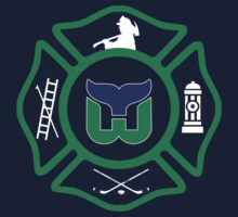 Hartford Fire - Whalers style Kids Tee