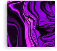 Purple Abstract Deisgn Canvas Print