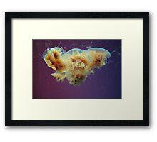 Swimming in a Purple Haze. Framed Print