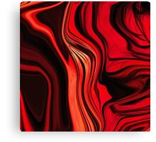 Red Abstract Design Canvas Print