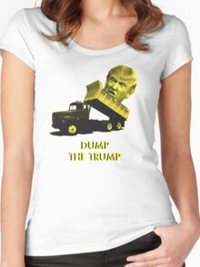 Dump the Trump Women's Fitted Scoop T-Shirt
