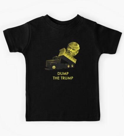Dump the Trump Kids Tee