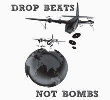 Drop Beats Not Bombs One Piece - Long Sleeve