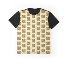 The Breakfast Selection - Cinnamon Swirl Crunch Graphic T-Shirt