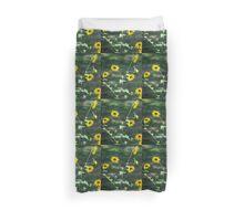 Sunflower Finch Duvet Cover