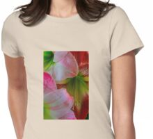 Amaryllis 5 Womens Fitted T-Shirt