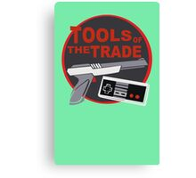 Nintendo - Tools Of The Trade funny nerd geek geeky Canvas Print