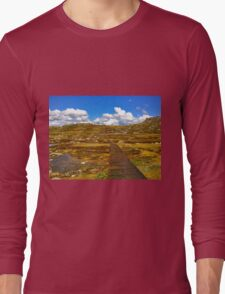 Looking Forwards and Upwards Long Sleeve T-Shirt