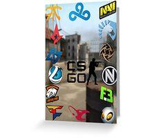 Cs:Go Team Greeting Card