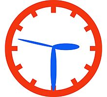 Todd Time Clock Photographic Print