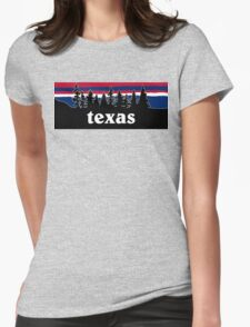 Texas Womens Fitted T-Shirt