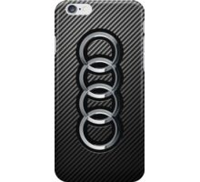Audi Carbon Fiber Case iPhone Case/Skin