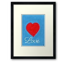 Printable Love Art Framed Print
