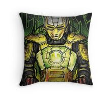 Cyrax Mortal Kombat Throw Pillow