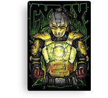 Cyrax Mortal Kombat Canvas Print