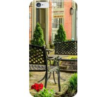 Augusta KY Benches iPhone Case/Skin