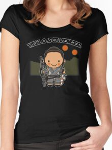 Hello Scavenger Women's Fitted Scoop T-Shirt