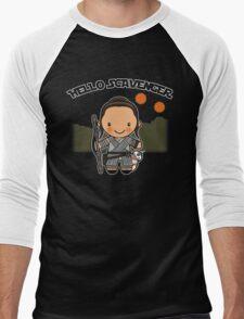 Hello Scavenger Men's Baseball ¾ T-Shirt