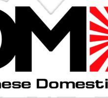 JDM - Japanese Domestic Market Sticker