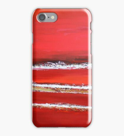Fields of Fire I - Diptych iPhone Case/Skin