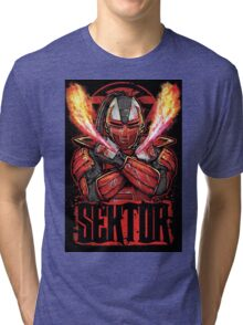 Sektor Mortal Kombat Tri-blend T-Shirt