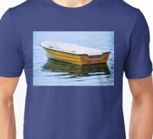 Yellow Row Boat Unisex T-Shirt